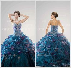 Cheap Quinceanera Dresses - Discount 2014 Hot Quinceanera Dresses Spaghetti Straps Ball Gown Online with $118.7/Piece | DHgate