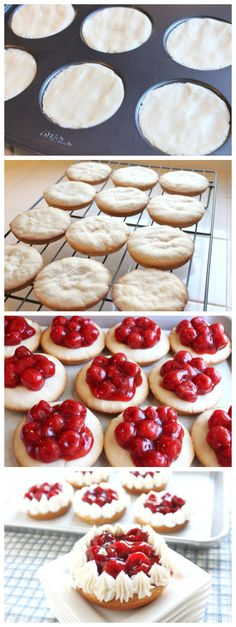 Normal Recipe: Cherry Pie Cookies... Or strawberry/blueberry