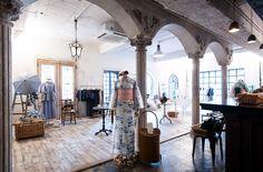 大森伃佑子さんが手がけるDOUBLE MAISONの「浴衣と夏着物 2015」展で、夏の涼を楽しむための装いを探して  http://soen.tokyo/fashion/feature/doublemaison150605.html