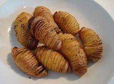 Kartoffelfächer mit Radieschen-Quark - Rezept | DasKochrezept.de