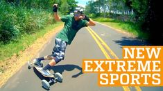 TOP THREE NEW EXTREME SPORTS - Freeline Skates, 2Wheel & Carveboard | PE...