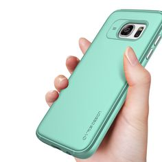 Urcover VRS Design Single Fit Ice Mint Silicone Case for Samsung Galaxy S7 and S7 Edge
