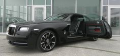 At Rolls-Royce Motor Cars Geneva, the new Wraith Carbon Fiber Edition was shown off. This new model was featured on their Facebook page in all of its glory
