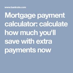 loan calculator extra payments