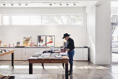 The unexpected creative scene of tiny desert city Marfa, Texas, is celebrated in style at impeccable art hotel...