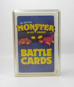 Monster In My Pocket Series 1 Complete Set Battle Card Matchbox M.I.M.P.