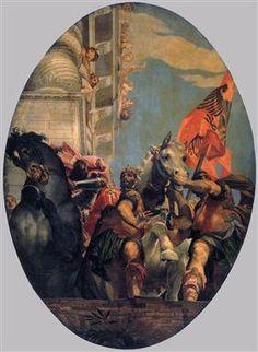 The Triumph of Mordecai - Paolo Veronese