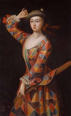 1719 MRS HESTER BOOTH AS HARLEQUIN | Flickr - Photo Sharing!