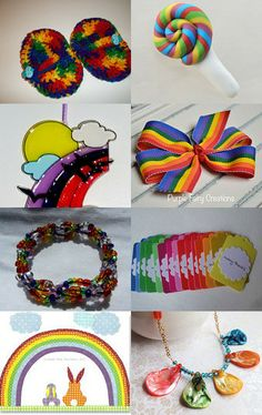 What Color is your Rainbow??? by Cindy Ely on Etsy--Pinned with TreasuryPin.com