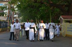 Palm Sunday rally in Nagercoil Focus Online, Kanyakumari, Palm Sunday, Rally, Youth, Young Man, Young Adults