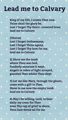 Lead me to Calvary Lest I Forget, Worship Songs, Of My Life, Brows, Ads, Love, Eyebrows, Amor, Eye Brows