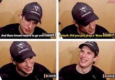 "Sid drops a ""Beau Knows"" lol"