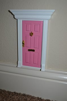 Fairy Doors are perfect for imaginative and creative children!Attach your Fairy Door low on a wall, high on a shelf, or in a secret place inside your home. Fairies are super smart- so they will know how to use the door to come in and out. Some fairies even leave special notes and gifts to well behaved children, kids who are learning how to potty train, or for tooth fairy gifts! The possibilities are endless! Start a new, fun, tradition for your family.Two styles:Angle roof: Opens INWARD…