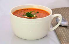Vegie Head » Spicy Tomato Soup…