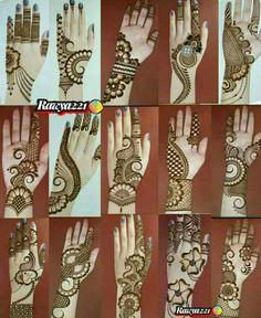 Henna Tattoo Designs Simple, Simple Arabic Mehndi Designs, Henna Art Designs, Mehndi Designs For Beginners, Mehndi Designs For Girls, Wedding Mehndi Designs, Mehndi Designs For Fingers, Dulhan Mehndi Designs, Beautiful Mehndi Design