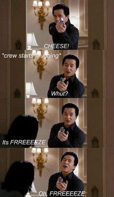 Jackie Chan love him