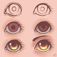 Eyes - Tutorial [2] by julcha97