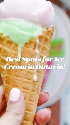Gluten Free Desserts, Delicious Desserts, Dessert Recipes, Good Food, Yummy Food, Chocolate Cookie Recipes, Ice Cream Desserts, Toronto, New Flavour