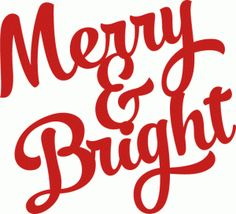 #70074: merry and bright brush script title
