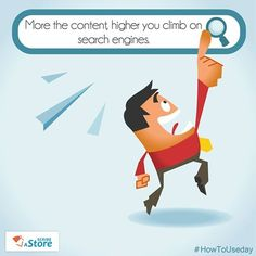 As a #rule, #searchengines LOVE large websites. And, such websites thrive only on content. For the pages of your #onlinestore, it is important that you not only put accurate product descriptions but also invite customer input to enhance the quality of #content. ScribeAStore puts you in control of generating such content that makes it easier for your store to be listed on the top in search engines.#onlinebusiness #eCommerce #eTail #HowToUseDay #India #startup