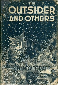 The Outsider & Others by H.P. Lovecraft, 1939. Cover by Virgil Finlay.