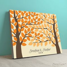 Intertwined - Wedding Guest Book Alternative - By Peachwik