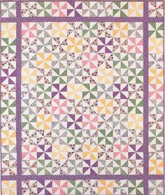 pinwheel quilt patterns | Traditional Pinwheel Quilt Pattern