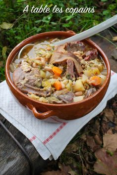 300 Calories, French Food, Stew, Chili, Bacon, Good Food, Menu, Healthy Recipes, Traditional