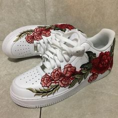 Superb People Also Love These Ideas. Custom AF1 | Flower Bomb