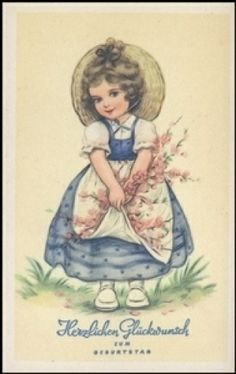 Geburtstagskarte ( K00721 ), Briefmarken-Versand-Welt - Briefmarken, Ansichtskarten und mehr