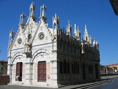 Capilla de Santa María de la Espina, Pisa.