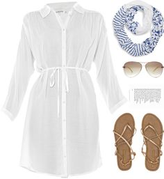 """Beach Thinking"" by cb-hula on Polyvore"