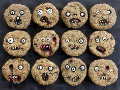 Cómo hacer las galletas más terroríficas para Halloween - #Galletas, #Halloween