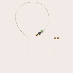 SPHERES necklace by MALENE GLINTBORG