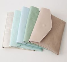 pretty pastel clutches