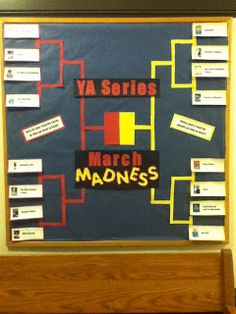 The Librarian in the Cupboard: March Madness YA Series Round 1