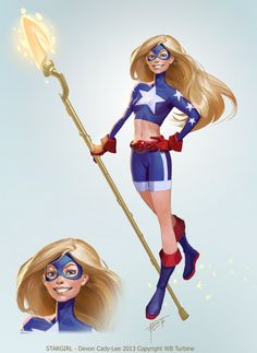 for Infinite Crisis. Stargirl and all related elements TM & © 2014 DC Comics Dc Comics Characters, Dc Comics Art, Comics Girls, Female Characters, Devon, Comic Manga, Anime Manga, Supergirl, Marvel Dc