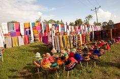 typical weaving products made by Dorze People, #Ethiopia