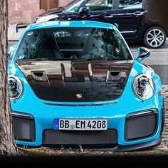 PORSCHE Porsche 911 Gt2 Rs, Porsche Cars, Blue Magic, Gt3 Rs, Most Beautiful Models, Race Cars, Cool Cars, Vehicles, Wicked