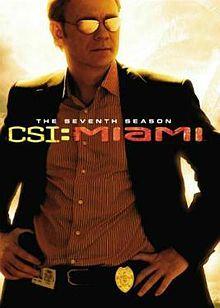 CSI: Miami Séptima Temporada