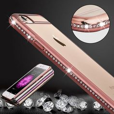 Roybens Luxury Bling Diamond Case For iPhone //Price: $9.95 & FREE Shipping Coupon Code #INSTA10