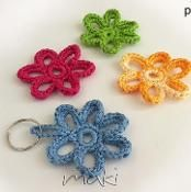FREE CROCHET PATTERN! Flower applique! - via @Craftsy