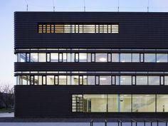 Superb Neubau auf dem Campus der BTU Cottbus Rostlaube f r die Informatik