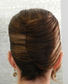 French twist updo. By #tinatobar      Check out more of my hairstyles on my Instagram page @ Tina.Tobar