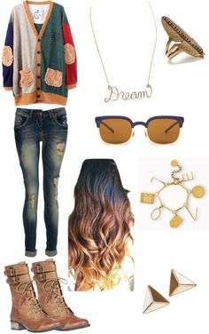 """School Outfit."" by aya-melhem ❤ liked on Polyvore"