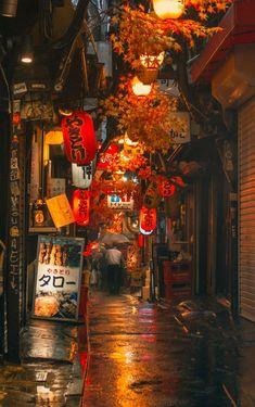 Aesthetic Japan, Japanese Aesthetic, City Aesthetic, City Wallpaper, Anime Scenery Wallpaper, Tokyo Night, Japan Street, Night Vibes, Night Night