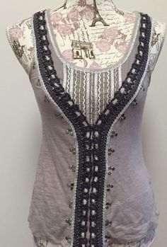 Anthropologie C.Keer XS Indian Embroidered Beaded Tribal African Tank Top Aztec | Clothing, Shoes & Accessories, Women's Clothing, Tops & Blouses | eBay!