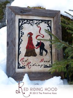 Red Riding Hood  EPattern by ThePrimitiveHare on Etsy, $14.99