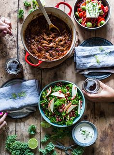 Den bedste Chili Con Carne - The Food Club - Famous Last Words I Love Food, A Food, All American Food, Spicy Stew, Danish Food, Food Club, Creative Food, Meat Recipes, Food Inspiration