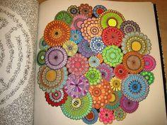 Secret Garden: An Inky Treasure Hunt and Coloring Book: Johanna Basford: